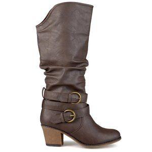 Journee Collection Women's Brown Regular Late Boot